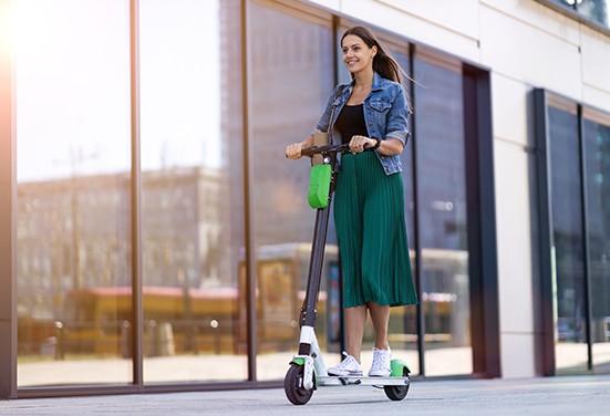 sidewalk-friendly electric bikes